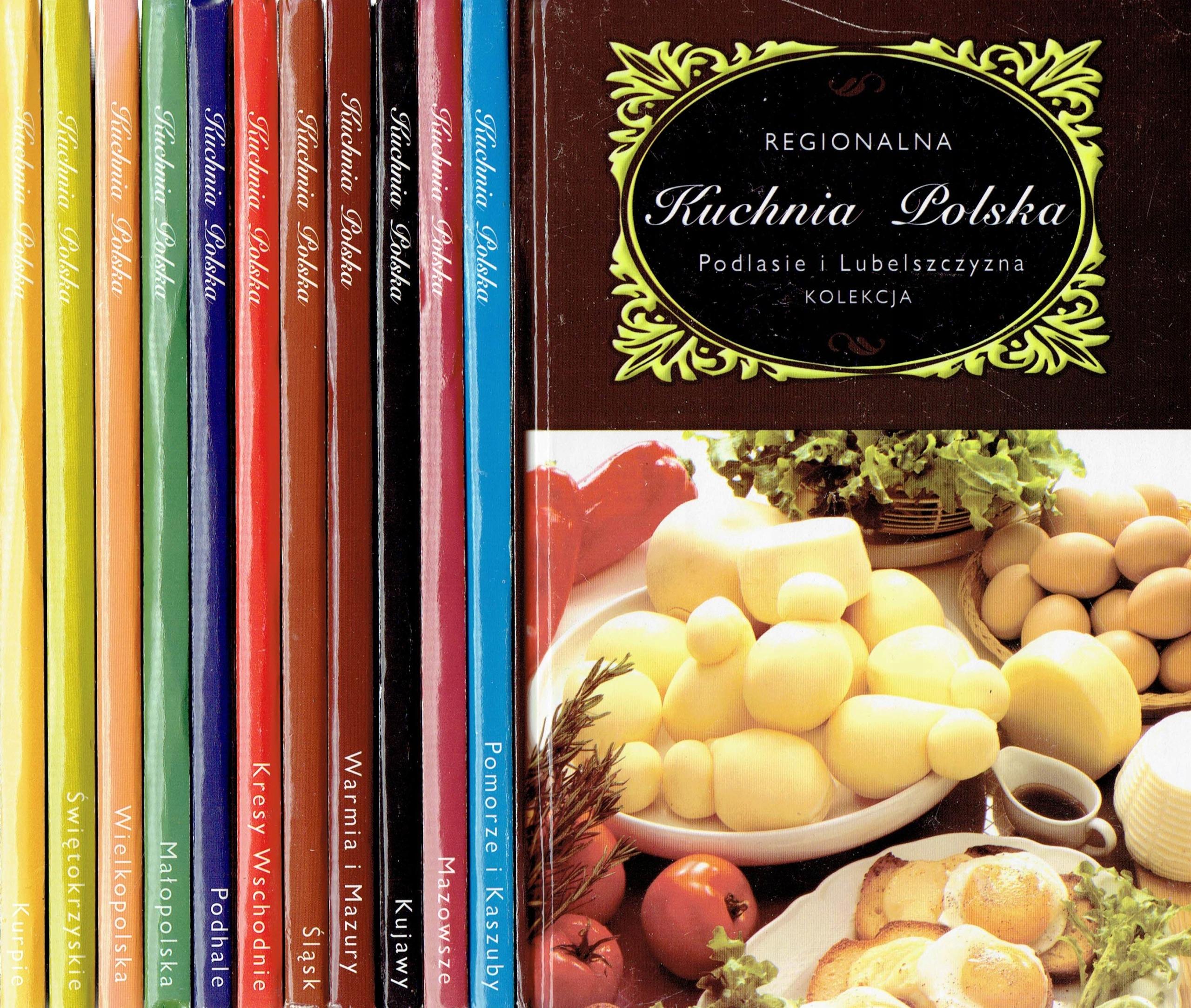 Regionalna Kuchnia Polska Kolekcja 12 Książek 7888249445