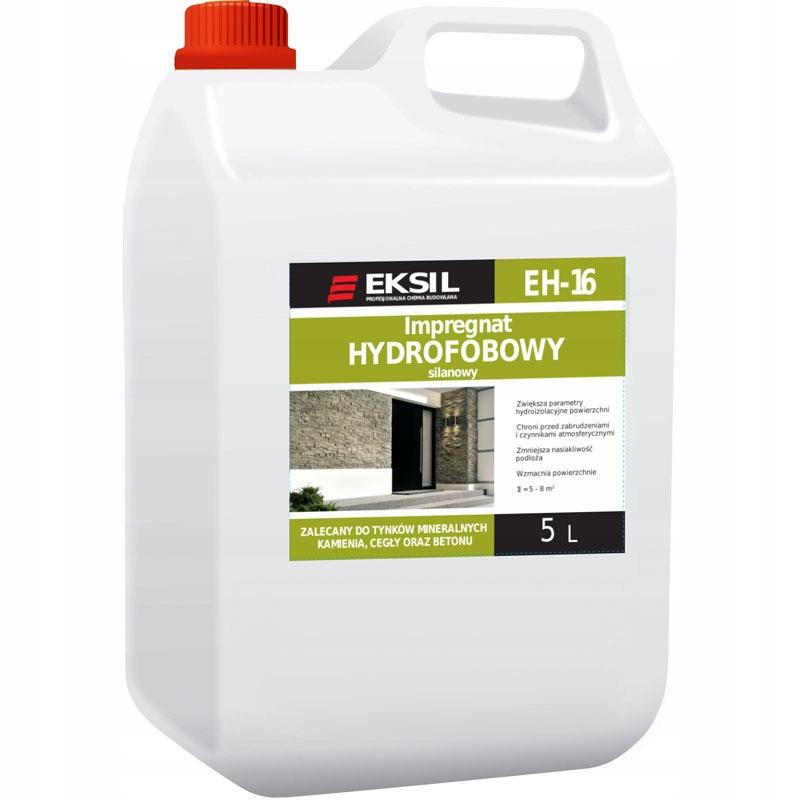 EKSIL EH-16 IMPREGNAT HYDROFOBOWY WZMACNIAJĄCY 5L