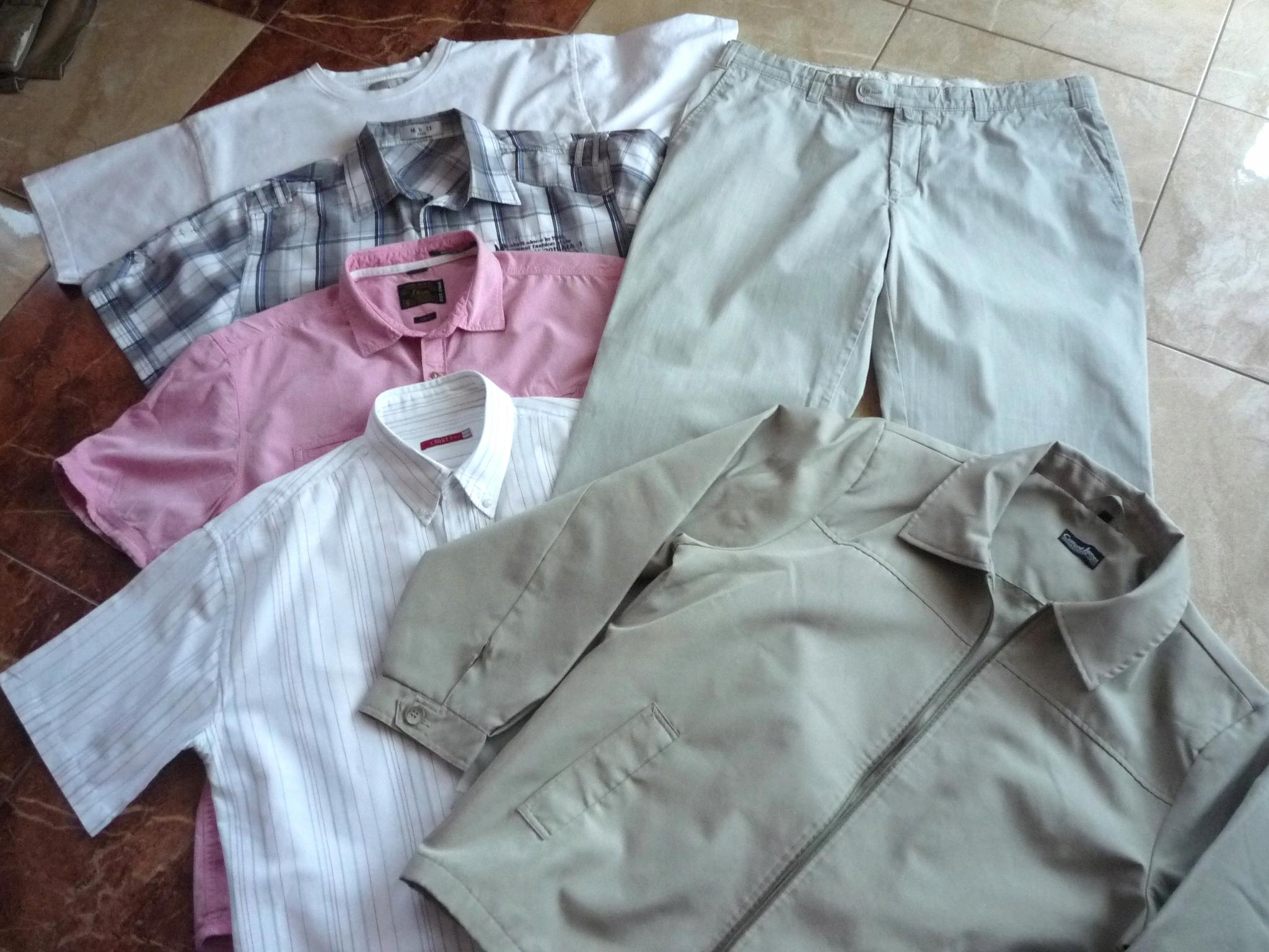 Spodnie koszule t-shirt kurtka pas 100 102 cm XXL