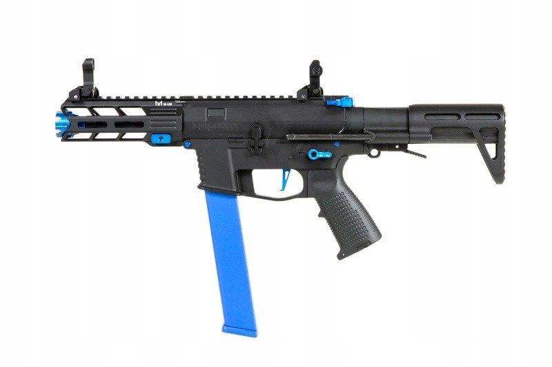 Pistolet maszynowy AEG Nemesis X9 Czarno-niebieski
