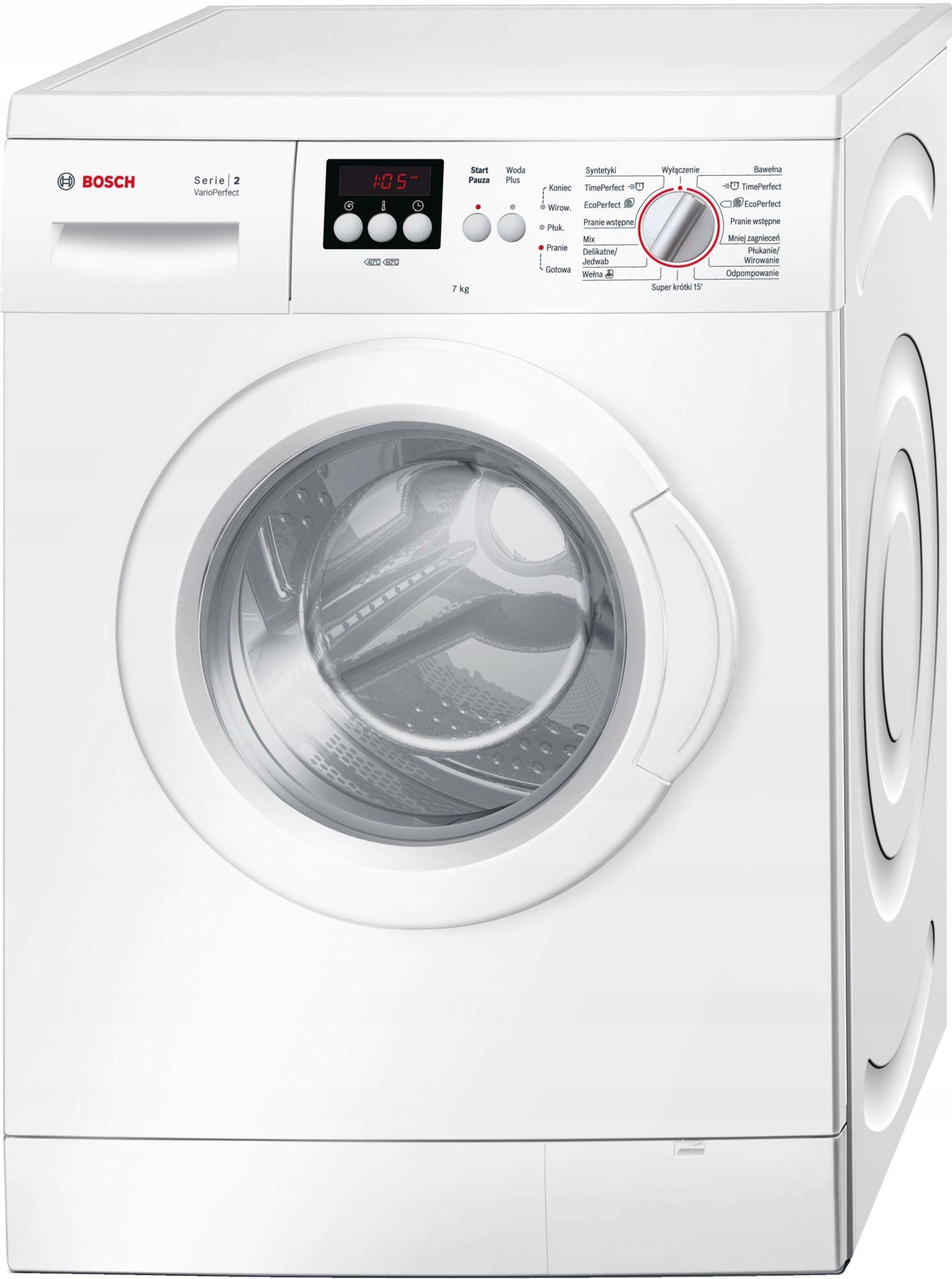Pralka Bosch WAE20260PL A+++ 7kg 1000obr/min 58dB