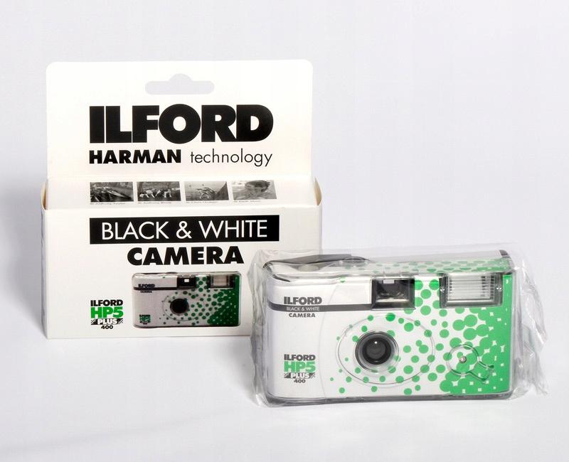 ILFORD Aparat Jednorazowy z filmem cz/b HP 5