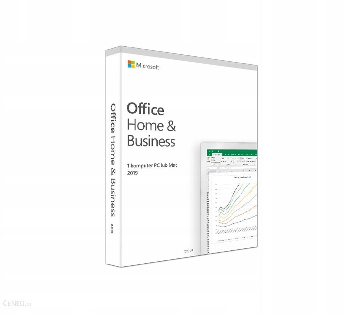 Microsoft Office Home Busines MAC 2019 32/64bit PL