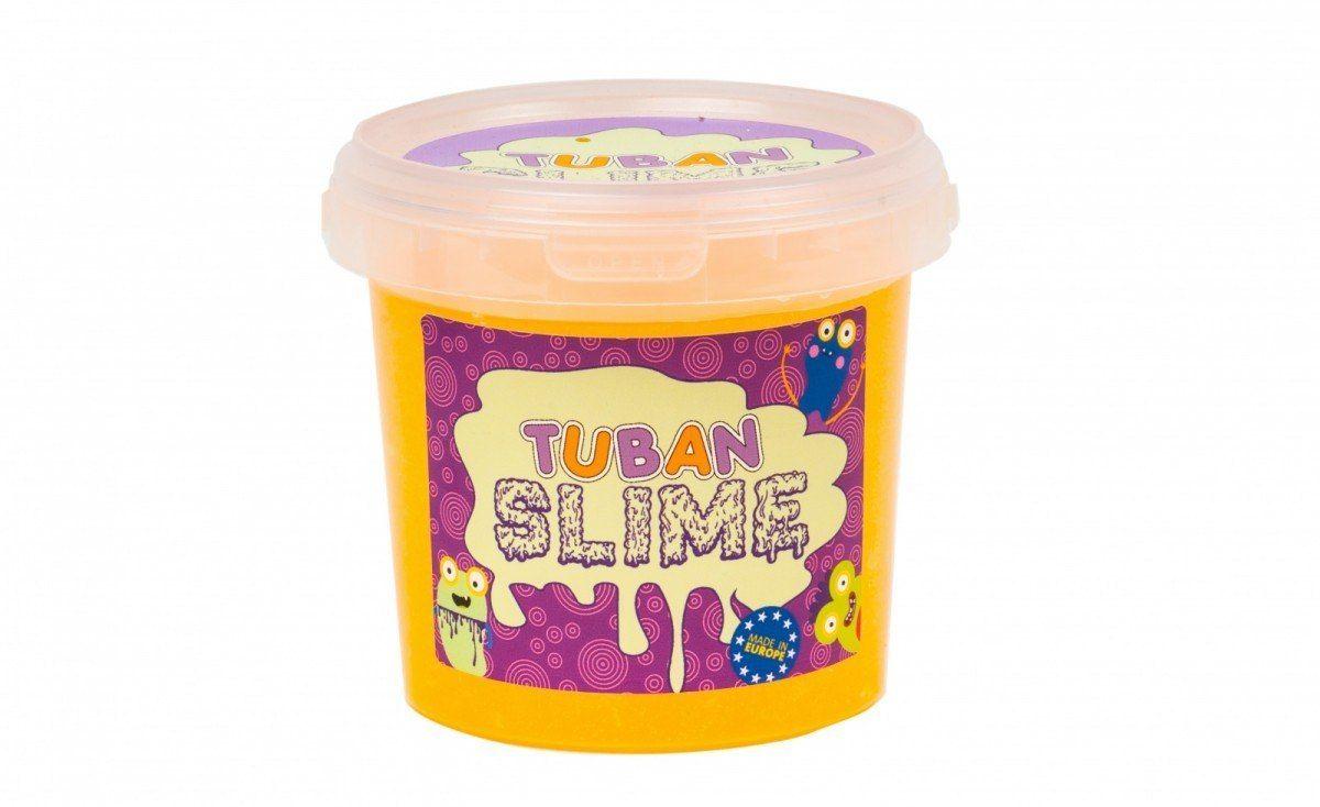 Super Slime TUBAN Brokat Neon Pomarańczowy 1 kg