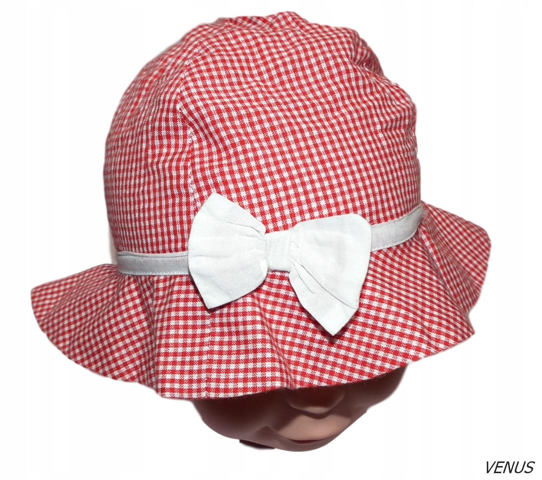 GEORGE NOWY kapelusz letni roz 74-80 cm