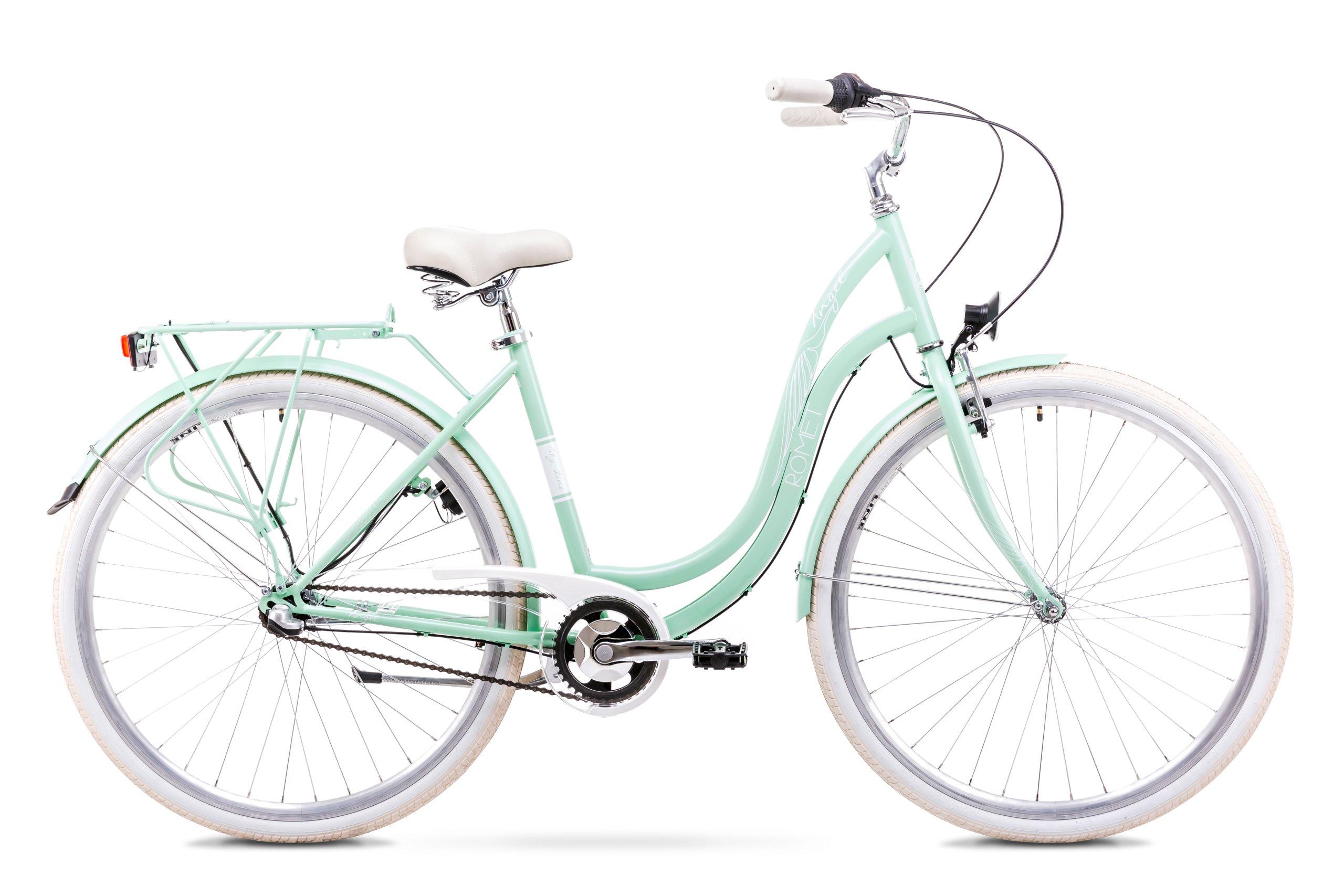 Polski Rower Miejski Angel 28'' 3-biegi + koszyk