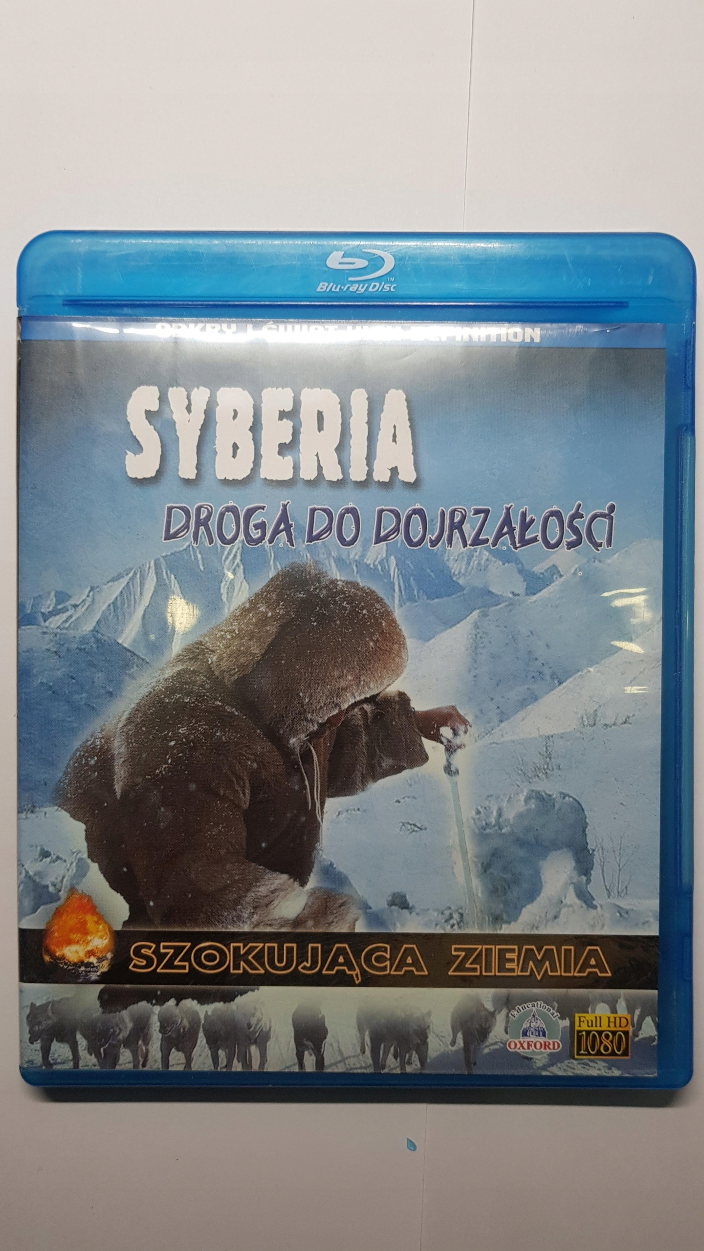 Blu-ray Syberia. Droga do dojrzałości