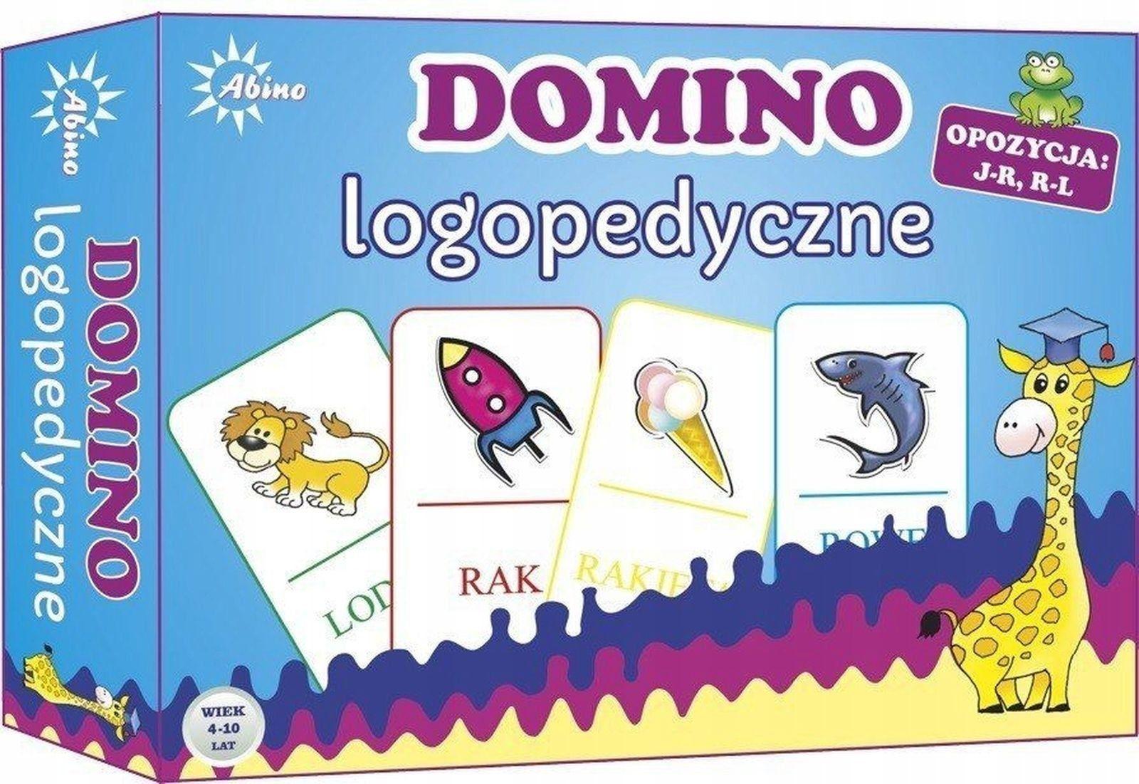 Domino logopedyczne J-R R-L 72762_2