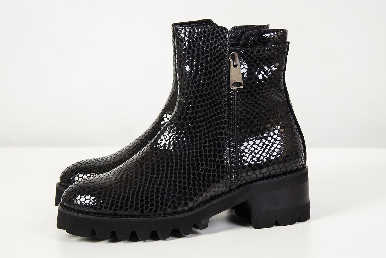 8d9ddaa3 Venezia czarne botki lakierowane r.36 vna04 - 7058370334 - oficjalne ...