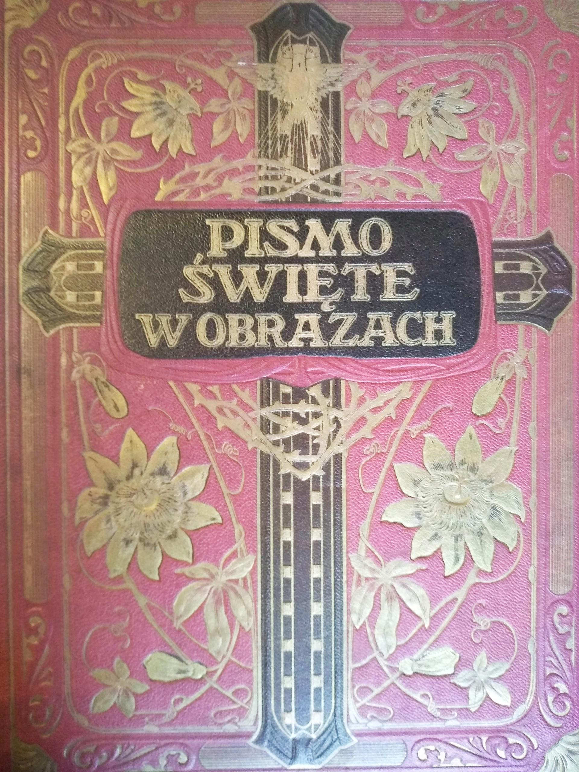 PISMO ŚWIĘTE W OBRAZACH BIBLIA 1934 Biblia