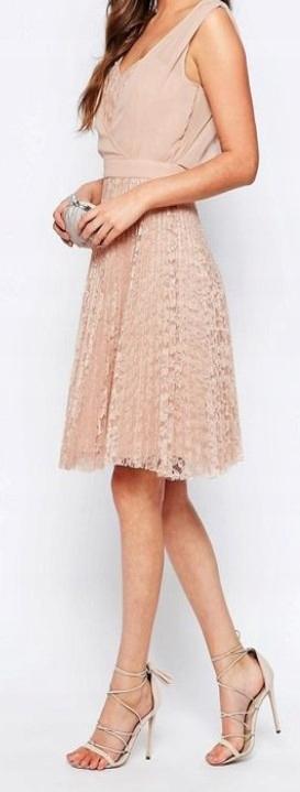 sukienka koronkowa - Elise Ryan dla ASOS