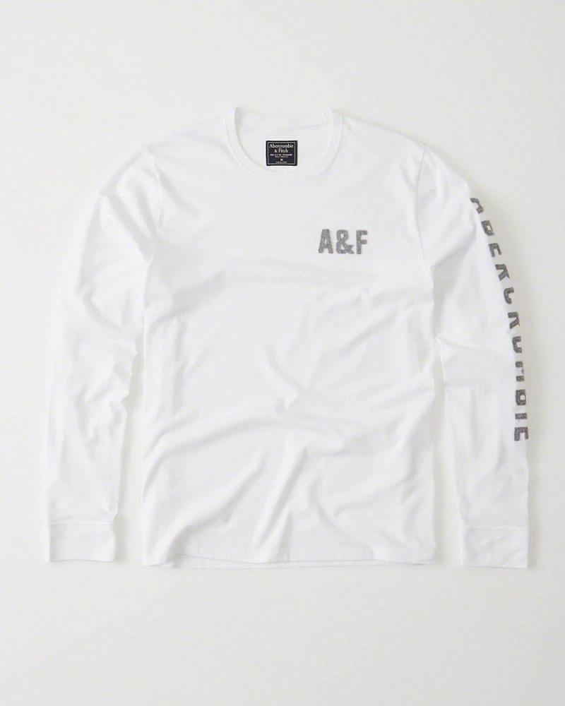Abercrombie&Fitch Koszulka na długi rękaw L