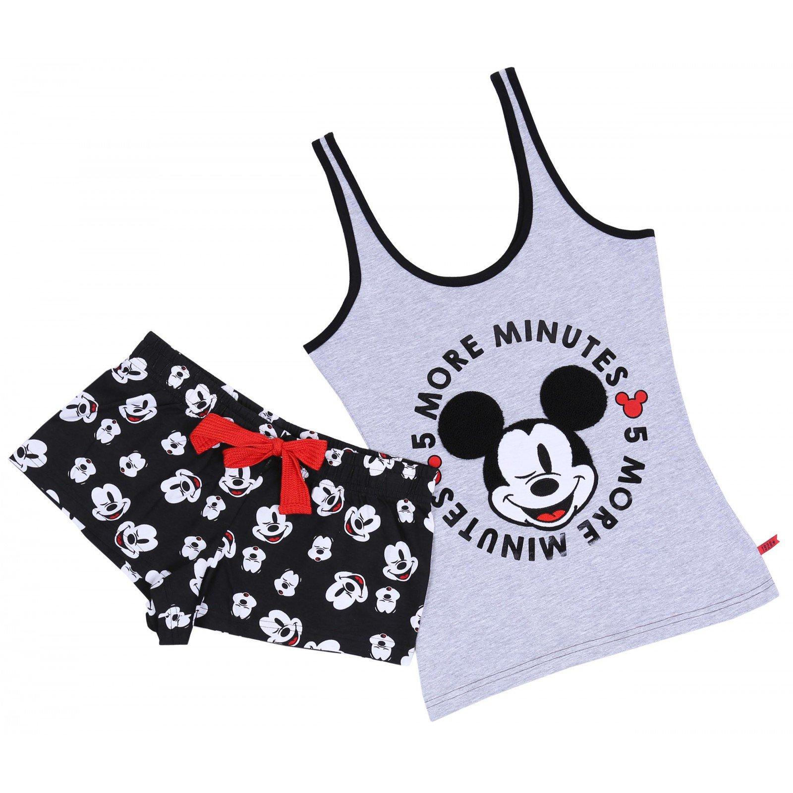 Czarno-szara piżama Mickey Mouse Disney 32
