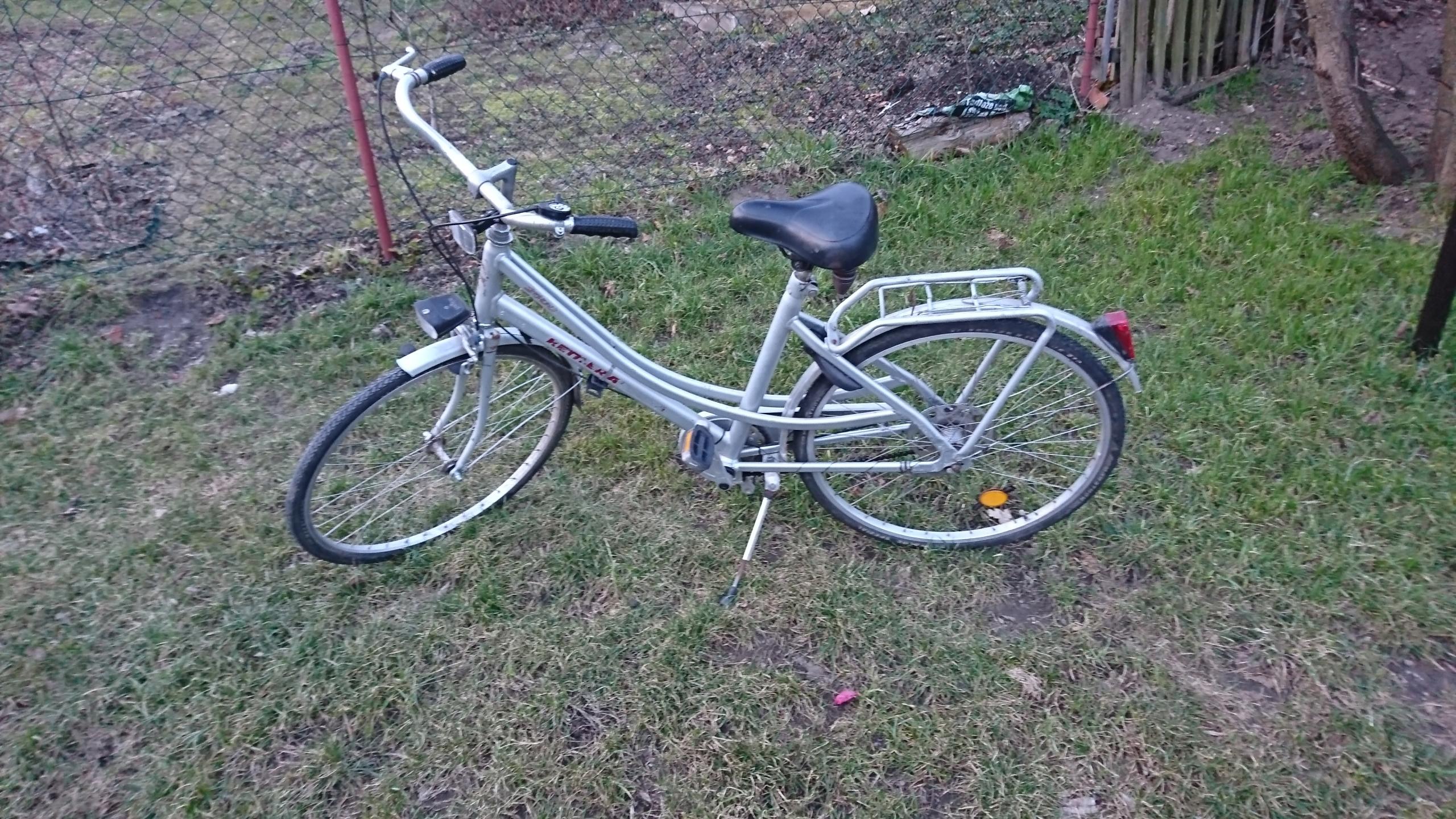 Rower damski damka aluminiowy Kettler 26