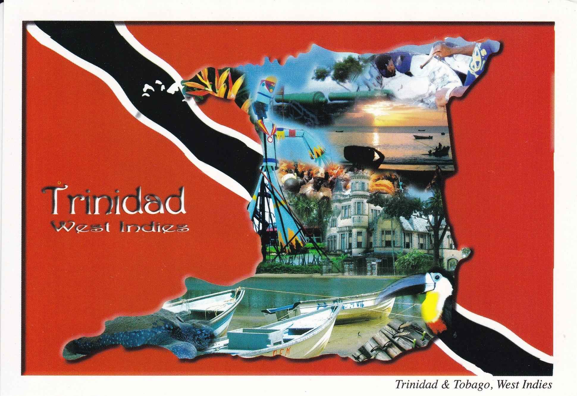 Trynidad - mapka