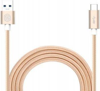 Kabel USB Nillkin Elite USB A -> USB C Złoty 1m