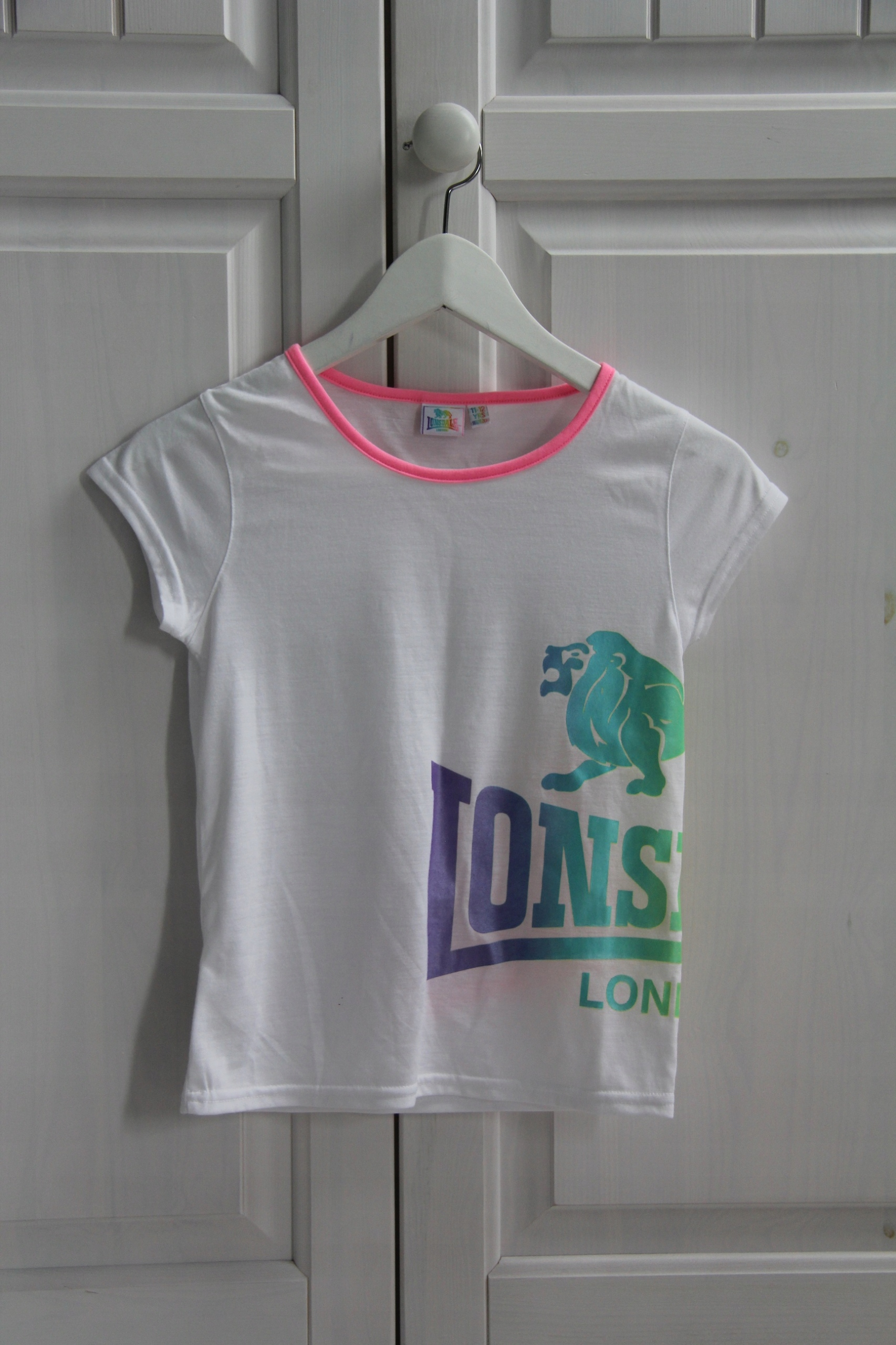 LONSDALE LONDON t-shirt11-12 LAT 146 CM
