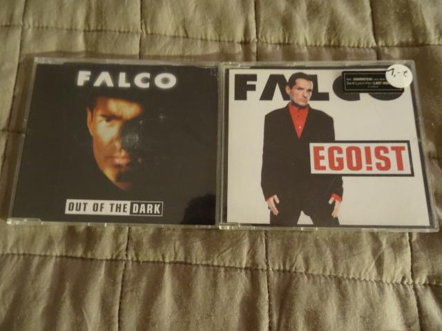 Zestaw 2 singli Falco - Out fo the dark i Ego!st