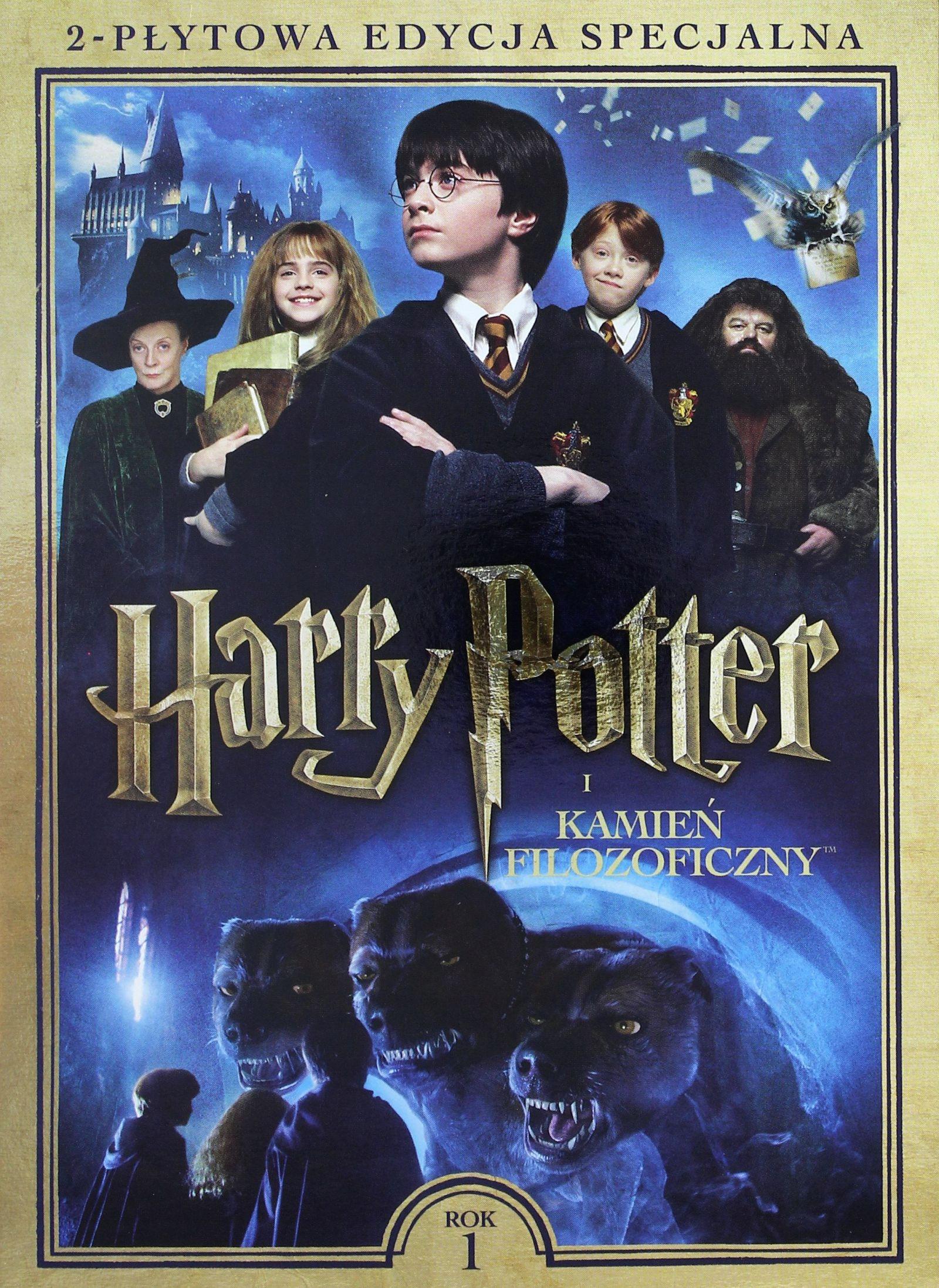 HARRY POTTER I KAMIEŃ FILOZOFICZNY [2DVD]