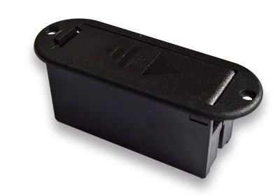 Koszyk na baterię z klapką 9V typ2