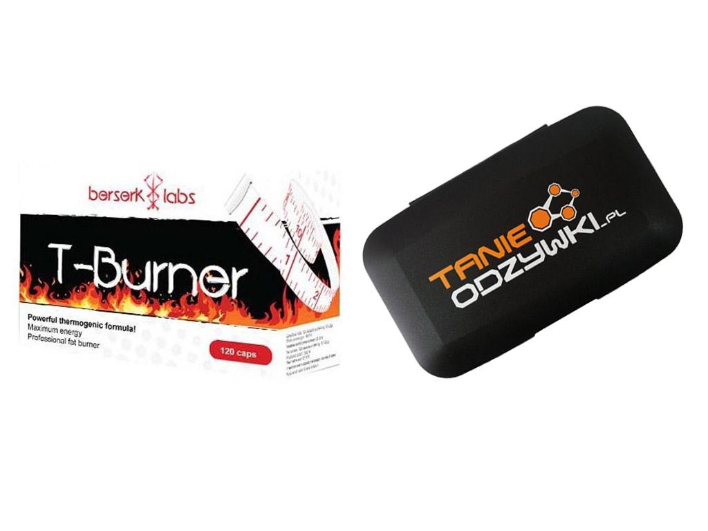 e1e341fc159a Berserk Labs T-Burner 120caps SPALACZ + PILLBOX - 6661182810 ...