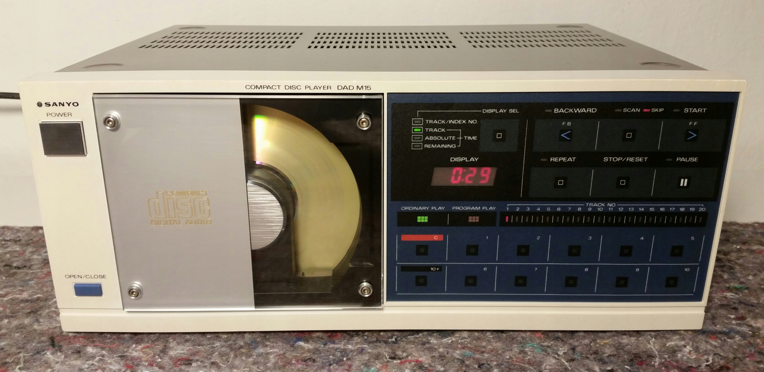 Sanyo DAD M15 2x TDA-1540D