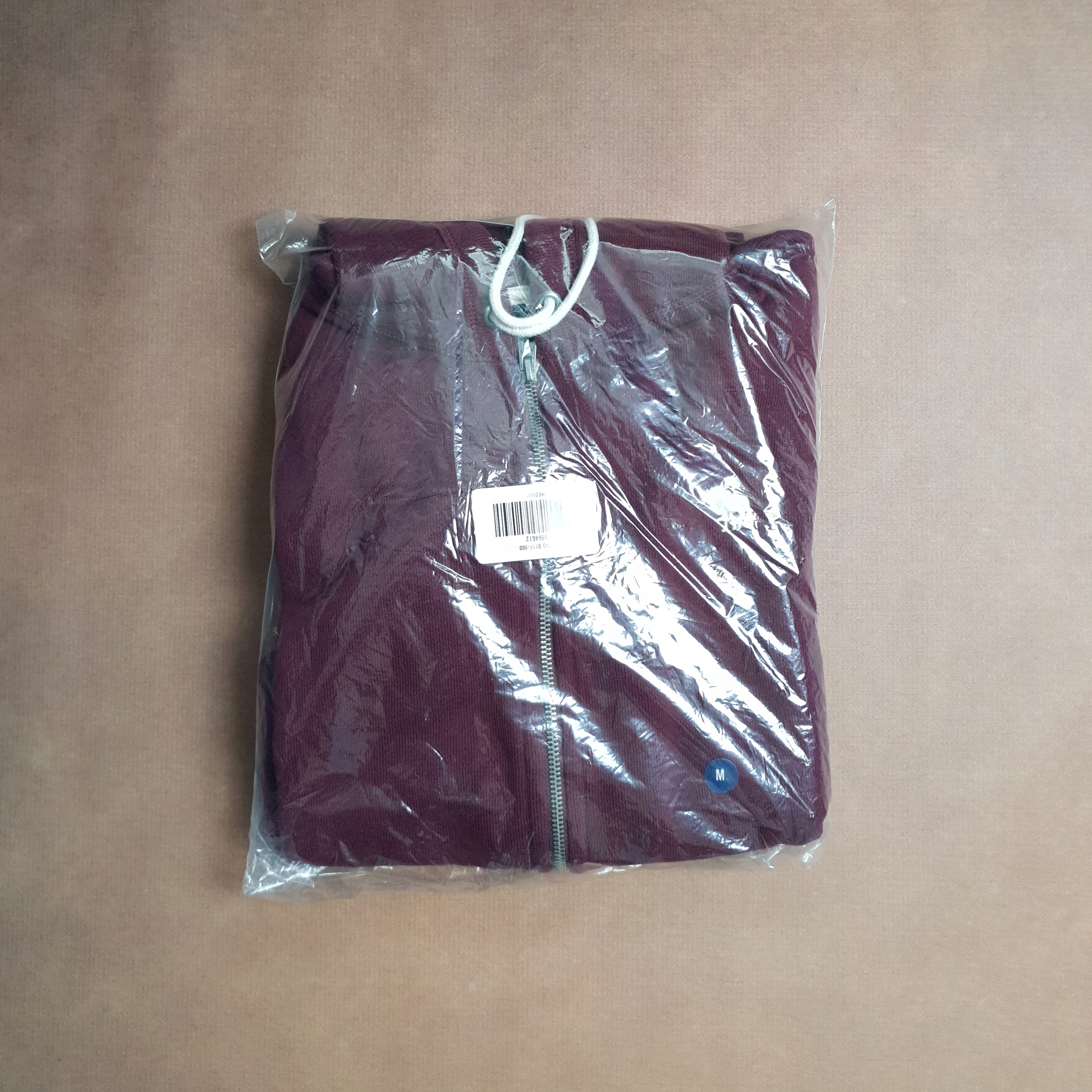 NOWA Bordowa Bluza Abercrombie&Fitch Roz. M