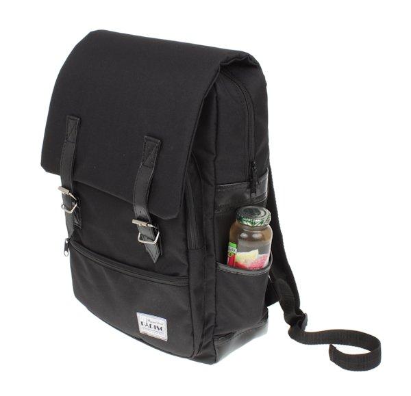 9b5d8f9b25cb7 Plecak szkolny czarny klasyczny Pariso - 7151257290 - oficjalne ...
