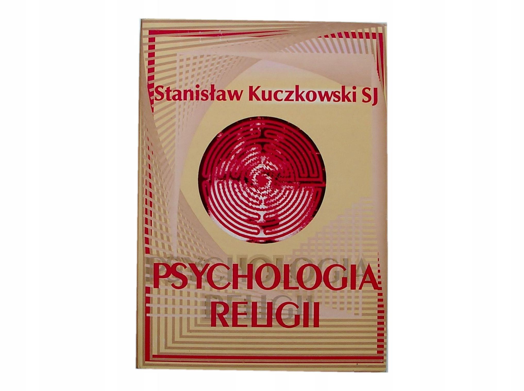 PSYCHOLOGIA RELIGII - Kuczkowski [8120A]