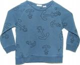 ZARA dresowa bluza w kotwice 98 cm