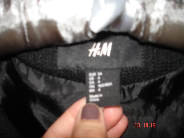 Marynarka jak ramoneska H&M +spodnie TOPSHOP