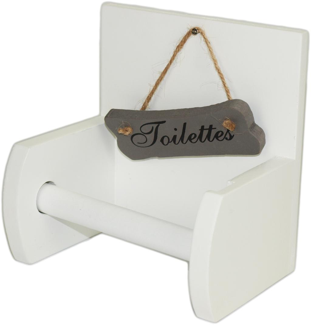 Uchwyt wieszak na papier toaleta WC Toilettes
