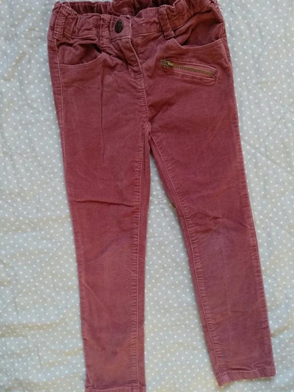 aksamitne spodnie c&a