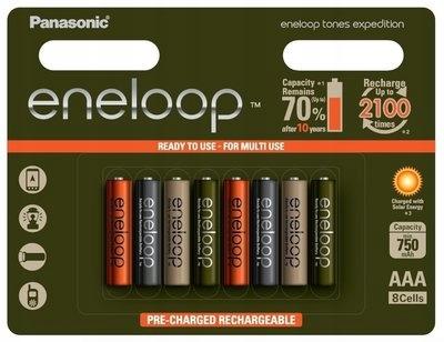 PANASONIC Eneloop akumulatory Tones Expedition R03