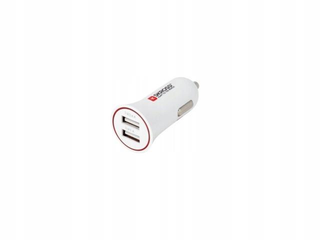 Mini ładowarka samochodowa dual USB