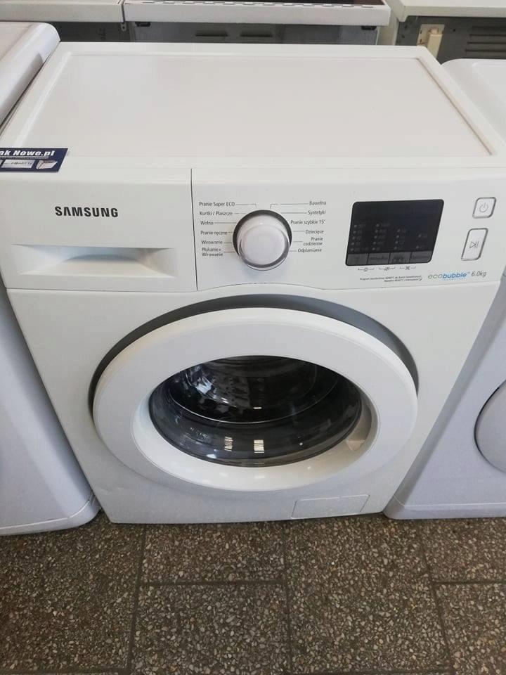 Pralka Samsung Eco Bubble | 6kg |1000obr | JakNowe