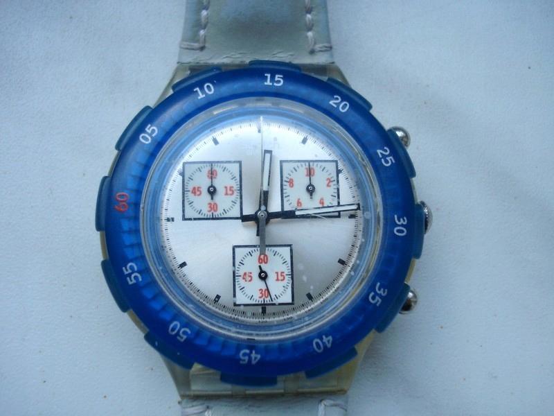 Zegarek Swatch nr 5671 ze stoperem