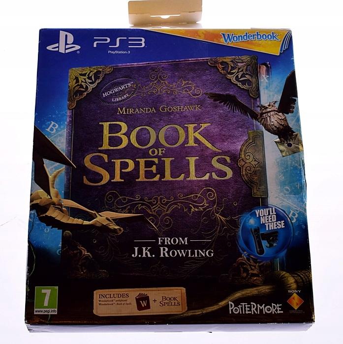 5283-3 MIRANDA GOSHAWK PS3 BOOK OF SPELT. PORADNIK