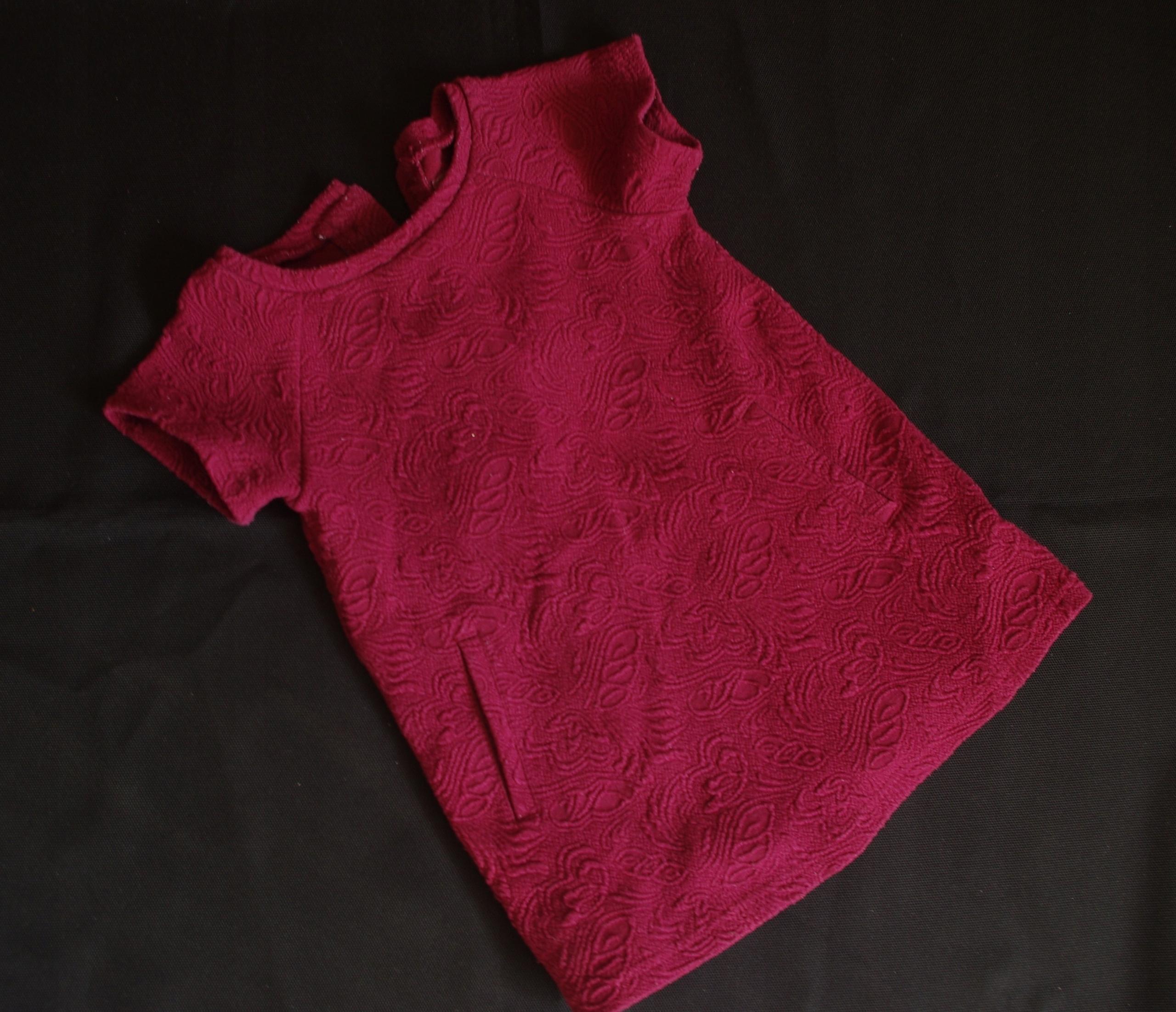 Bluzeczka tunika wytłaczana 80/86cm YD_4280