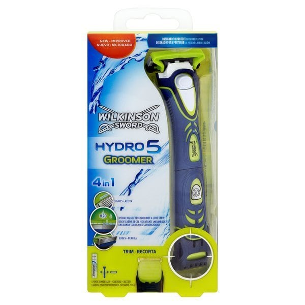 Wilkinson Hydro 5 Groomer 4w1 new H2O activated DE