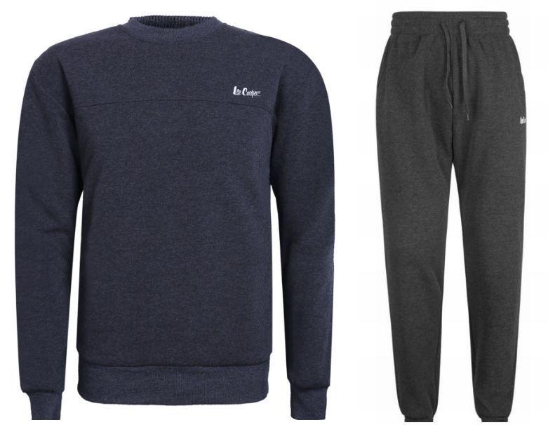 Lee Cooper komplet dres dresy spodnie bluza tu XL