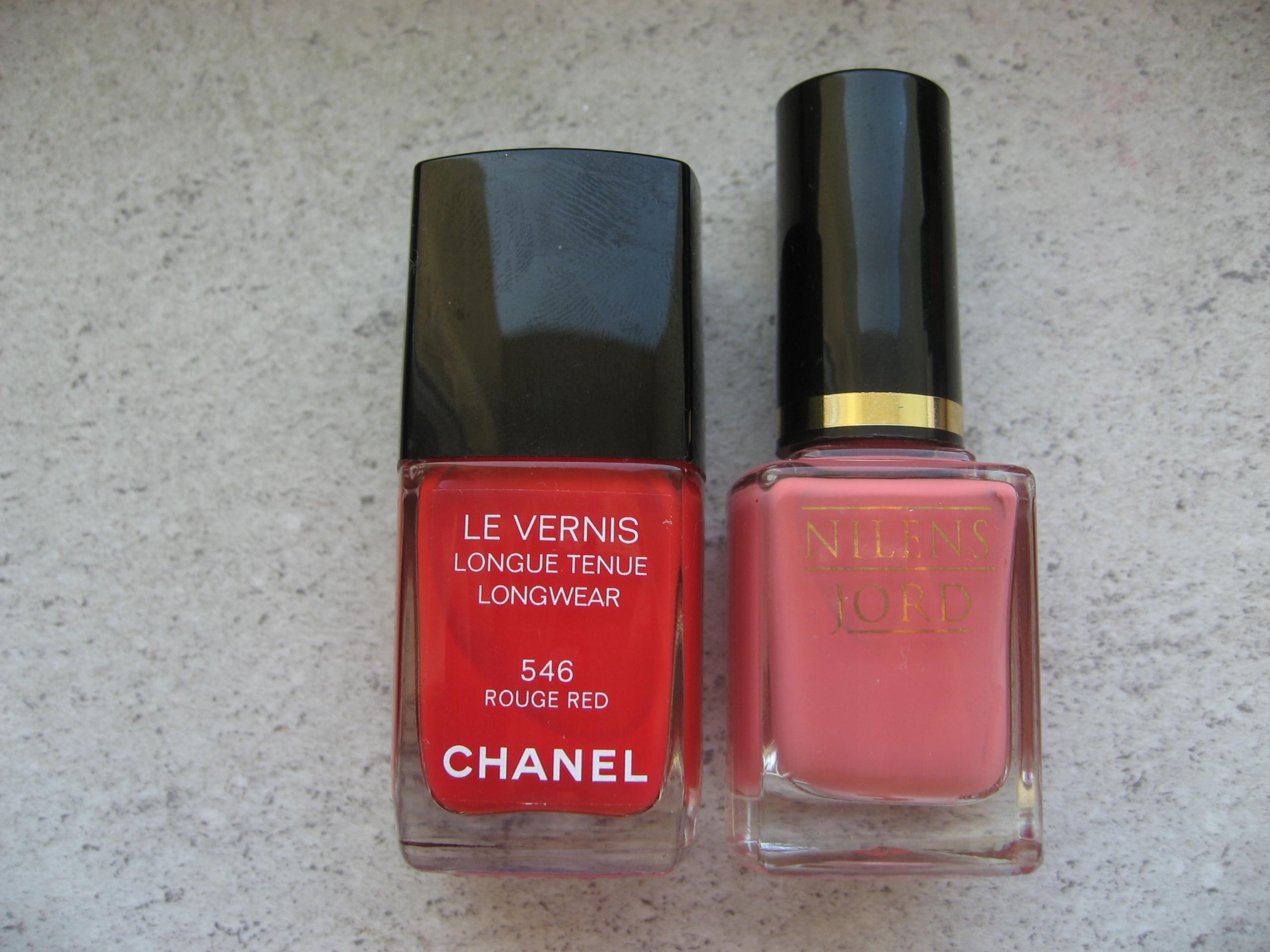 Chanel Le Vernis 546 + N.Jord 697- lakiery zestaw