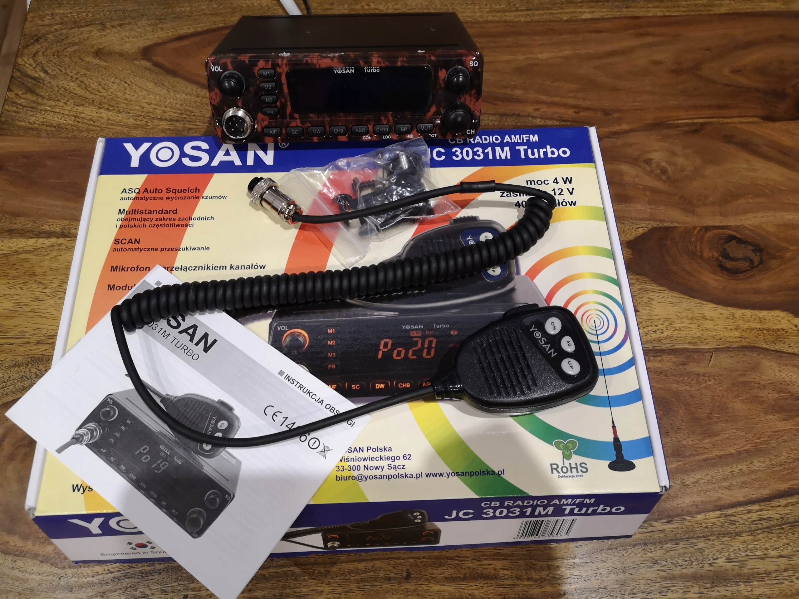 CB - Radio Yosan JC3031M Turbo