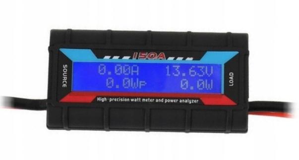 Miernik pojemności akumulatora, amperomierz 200A