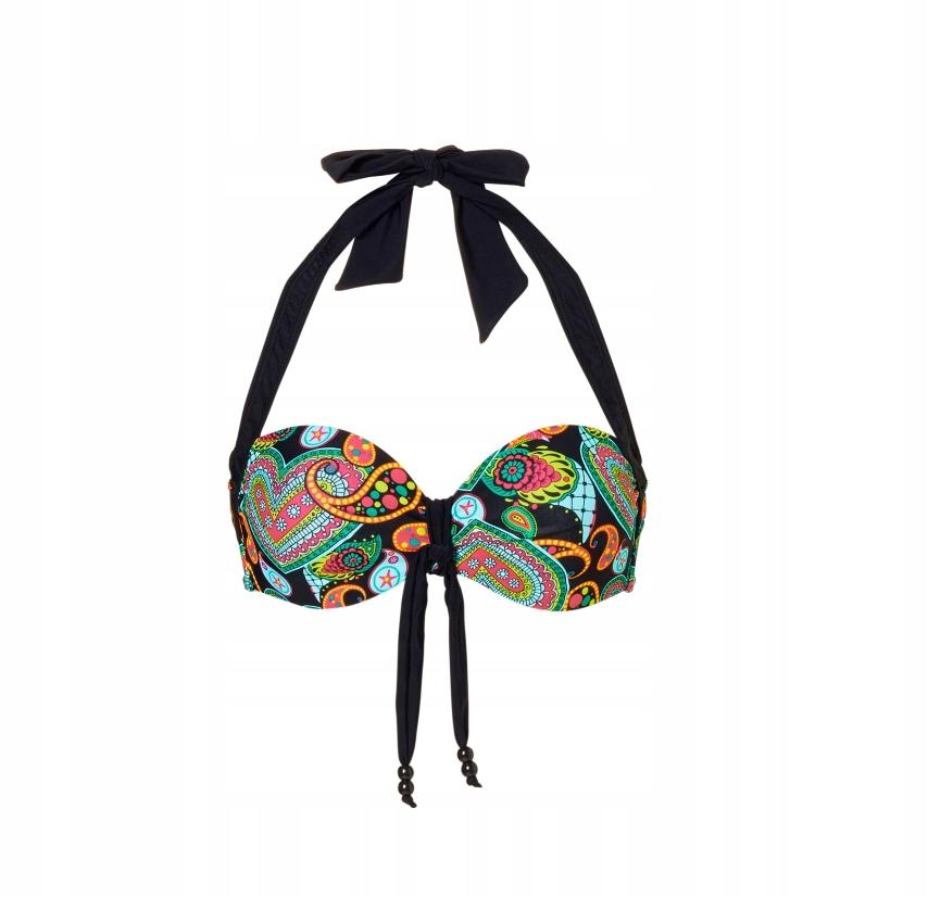 C219 BPC Biustonosz bikini na fiszbinach r.38 75C