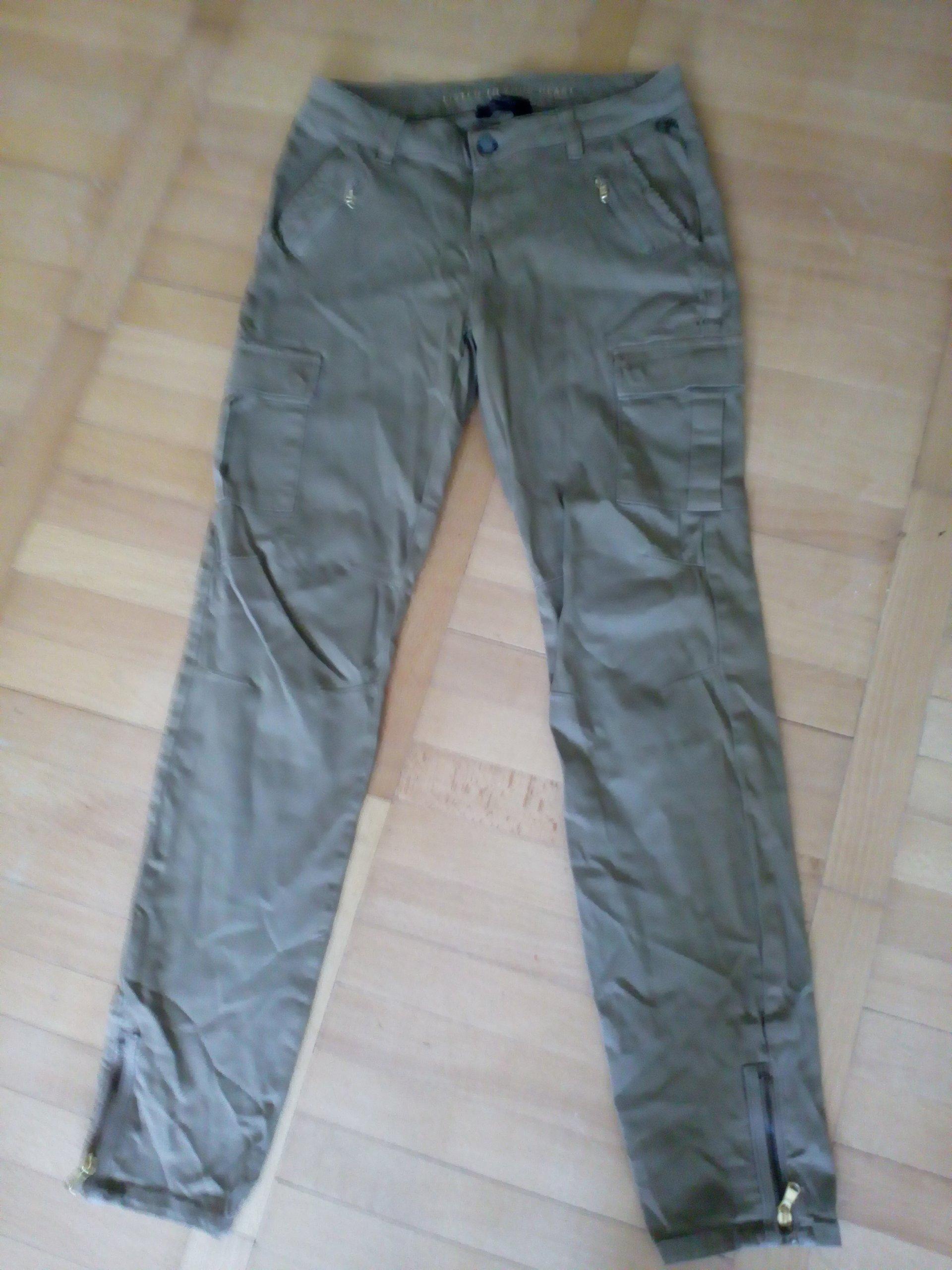 MOS MOSH spodnie jeans khaki 28 jak nowe