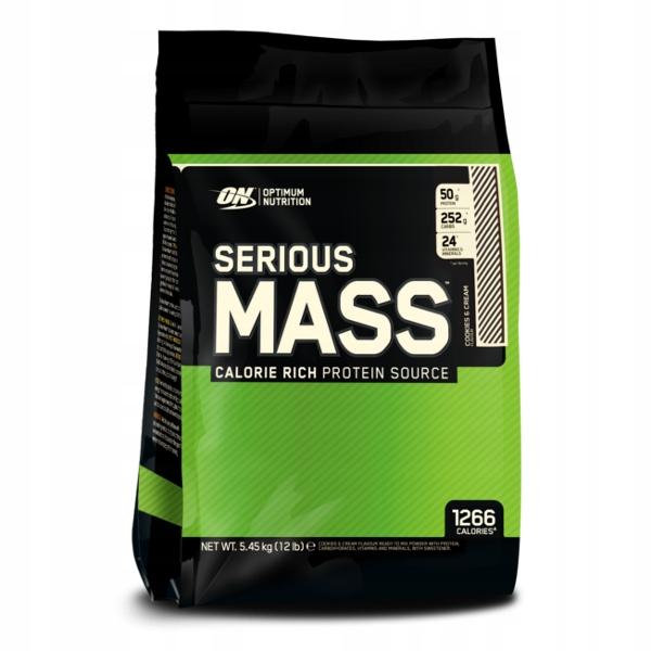 ON Serious Mass - 5455g czekolada masło orzechowe