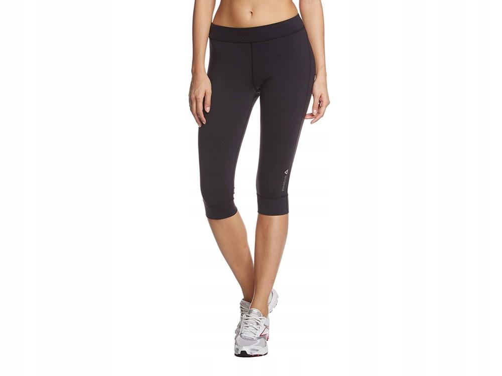 Legginsy sportowe spodnie 3/4 REEBOK Z81197 XS-L
