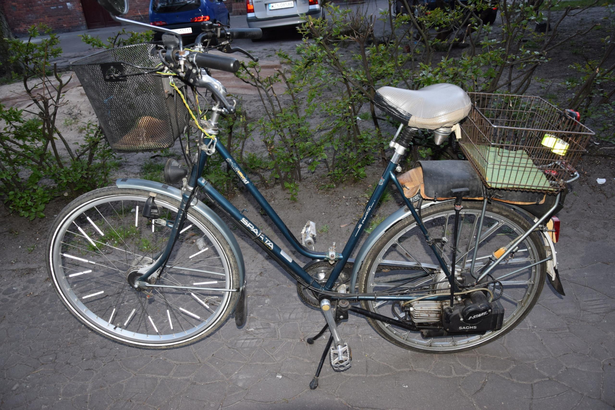 Rower spalinowy Sparta holenderski Sachs