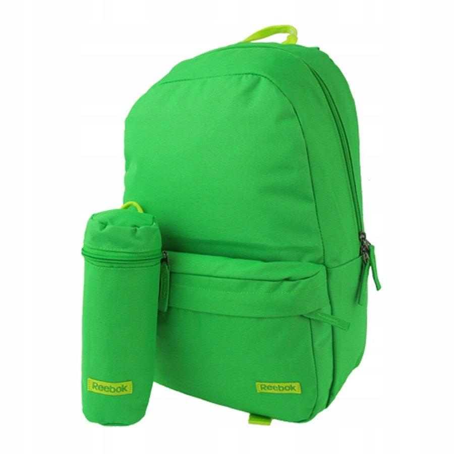 Plecak Reebok Z59261 BTS Logo zielony N SZ zielony